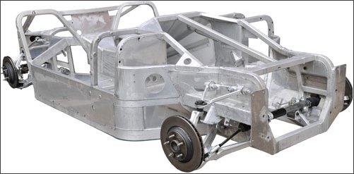 Kitcar usa american kit car information on cobra kit for Chassis aluminium